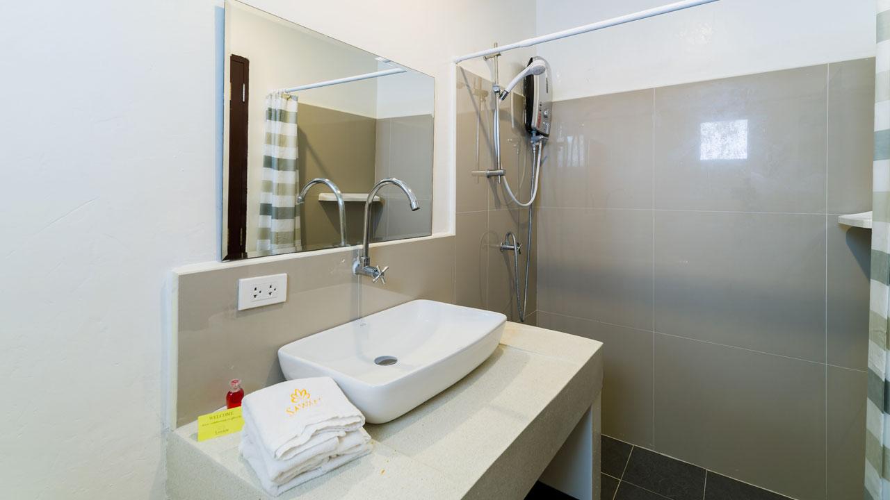 Salle de bain Villas privée avec piscine à Samui